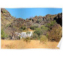 rocks of the kimberley Poster