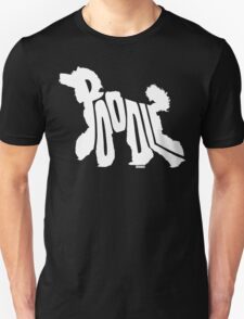 Poodle White Unisex T-Shirt