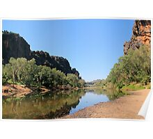 view into windjana gorge  Poster