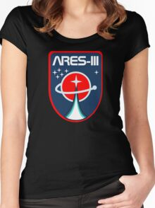 Ares 3 Emblem Women's Fitted Scoop T-Shirt