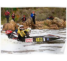 Power boat 146_3 Poster