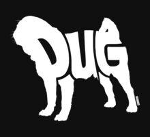 Pug White Kids Tee