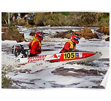 Power boat 105_3 Poster
