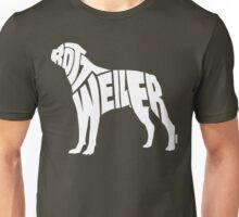 Rottweiler White Unisex T-Shirt