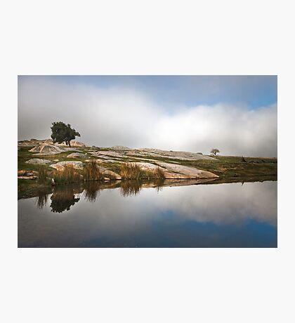 Reflecting Photographic Print