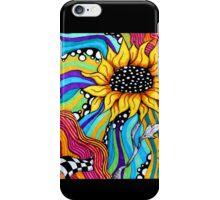 Trippy Sunflowers iPhone Case/Skin