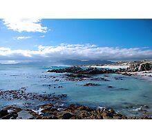 Blue seas Photographic Print
