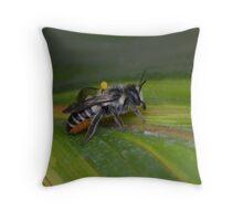 Varroa Mite Throw Pillow