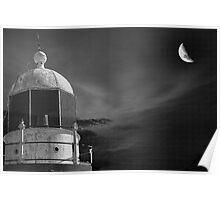 Moonlit tower Poster