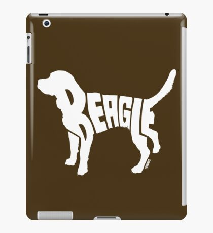 Beagle White iPad Case/Skin