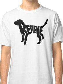 Beagle Black Classic T-Shirt