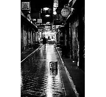 He walks at night Photographic Print