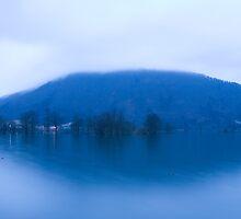 Blue dawn by Ian Middleton