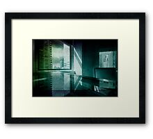 Office in New York Framed Print