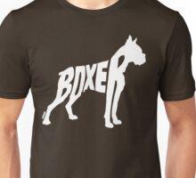 Boxer White Unisex T-Shirt