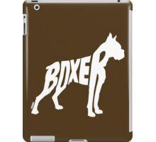 Boxer White iPad Case/Skin