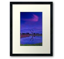 """""""A Splash of Pink"""" Framed Print"""