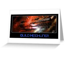 Guild Heighliner Greeting Card
