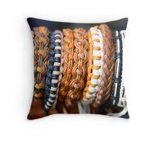Wrist Bands Throw Pillow