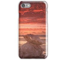 Clam shell sunset, Quobba iPhone Case/Skin