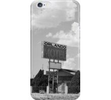 The former Orlando Motel, Route 66, Arizona iPhone Case/Skin