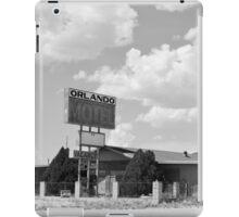 The former Orlando Motel, Route 66, Arizona iPad Case/Skin
