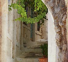 greek steps by Teresa Pople