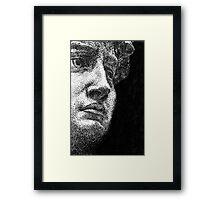 David Framed Print