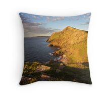 Second Valley Winter Hills Throw Pillow
