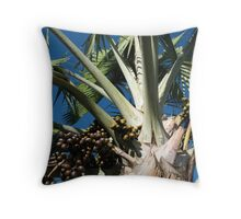 Palm Breeze Throw Pillow