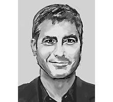 George Clooney Photographic Print