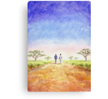 African Journey Canvas Print