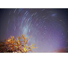 Star trail Photographic Print