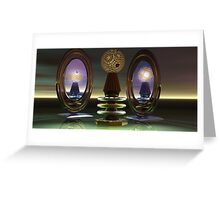 Mirror Mirror Greeting Card