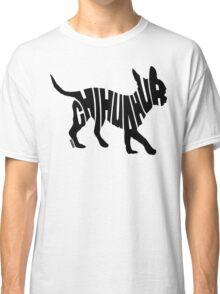 Chihuahua Black Classic T-Shirt