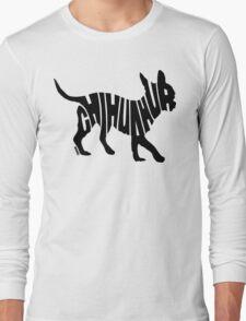 Chihuahua Black Long Sleeve T-Shirt
