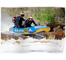 Power boat 020 Poster