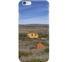 Outback Caravan, Exmouth, Western Australia iPhone Case/Skin