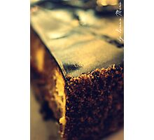 marble cheese cake Photographic Print