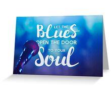 Delta Blues Greeting Card