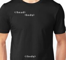 Simple </head> <body> HTML basic tags Unisex T-Shirt