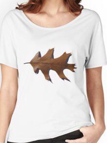 Copper Oak Leaf Women's Relaxed Fit T-Shirt
