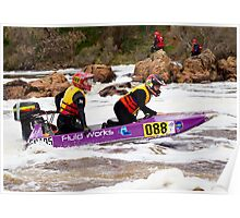 Power boat 088 Poster
