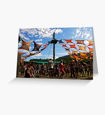 Voyage Music Festival, New Zealand Greeting Card