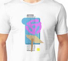 purple vinyl adapter collage Unisex T-Shirt