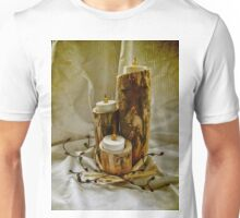 hand crafted candle holder Unisex T-Shirt