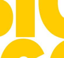 BIG EGO Sticker