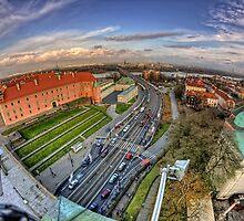 Warsaw - Praga View by Pawel Tomaszewicz