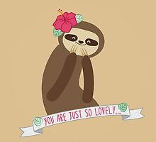 lovely sloth by sweetlazytime
