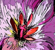 Pink Tulip study #2 by Amy Bettison